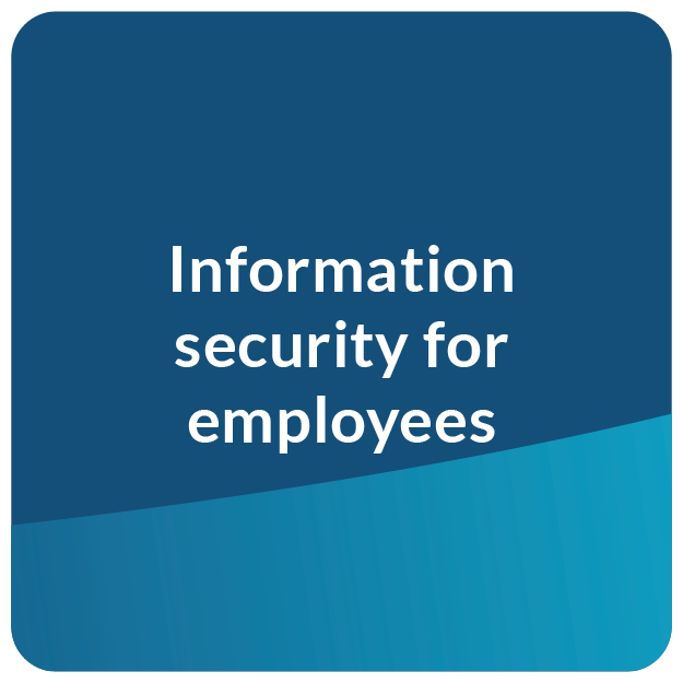 E-Learning information security for employees