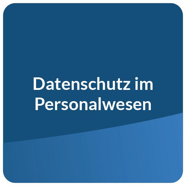 E-Learning Datenschutz im Personalwesen