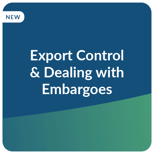 E-Learning Export Control