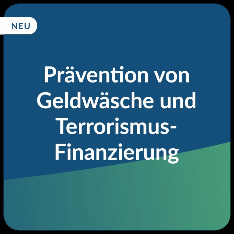 E-Learning Prävention von Geldwäsche