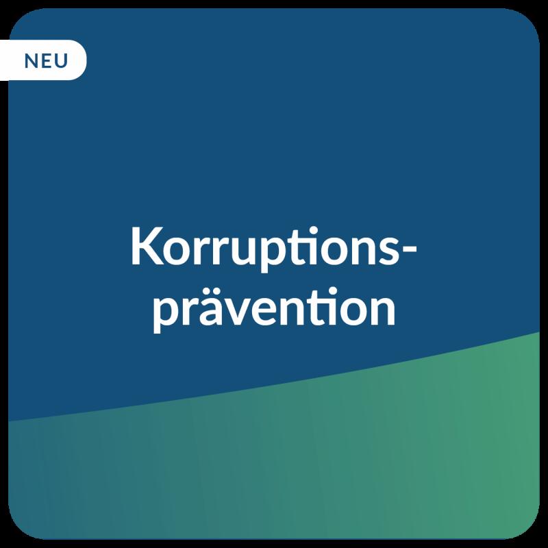 E-Learning Korruptionsprävention